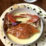 螃蟹炖蛋(偷师五星级酒店的招牌菜)
