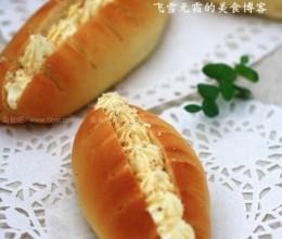 花生粉面包