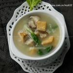 豆干香菇粥(减肥早餐菜谱)