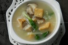 豆干香菇粥