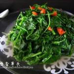 生煸酒香草头(上海盛行菜)