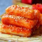 韩式煎年糕(自制风靡街头小吃)