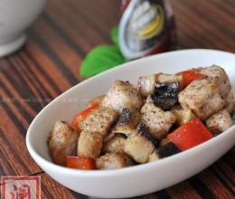黑胡椒猪肉粒的做法