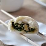 韭菜鸡蛋包子(早餐菜谱)