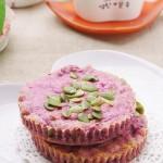 健康堅果紫薯餅的做法