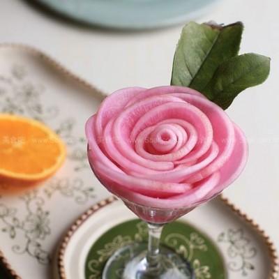 嫣紫玫瑰萝卜花