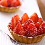 草莓杏仁塔(塔派小西点)