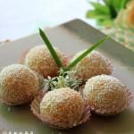 南瓜糯米糍(春季踏青必备的简单美味小点心)