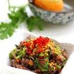 香拌茼蒿血珊瑚草(春季清肝火)