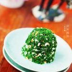 凉拌蒿菜的做法