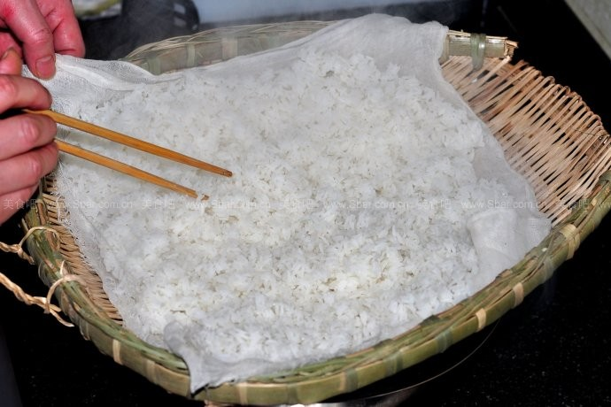 老成都的沥米饭