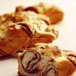 杏仁红豆面包的做法