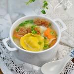 海茸金银饺(春季瘦身不容错过好吃好看的元宝饺)