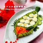 吉鱼迎春(菜肴摆盘围边)