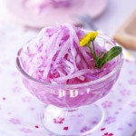 糖醋紫芯白萝卜的做法