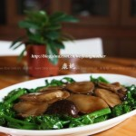 红烧双菇(中考高考菜谱-增强免疫力)