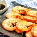 白灼虾(中考高考菜谱)