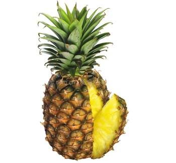 烤菠萝花的做法【图解】_烤菠萝花的家常做法_烤菠萝