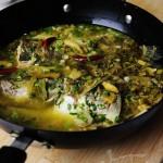 酸菜海鲈鱼的做法