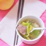 猪肝瘦肉汤(中考高考菜谱-为考生护肝名目缓解疲劳佳品)