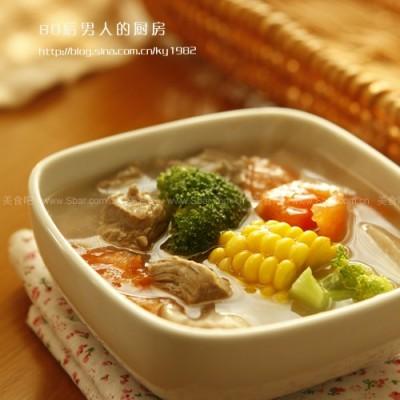 田园牛腩汤