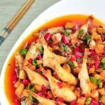 米椒耗儿鱼(中考高考菜谱-提神醒脑补充蛋白质的高考神菜)