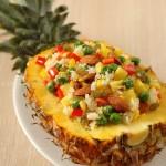 什锦菠萝饭(高考中考菜谱--能提高记忆的菜谱)