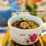核桃黑豆棒骨汤(高考食谱-让考生们健脑益神、养血宁心)