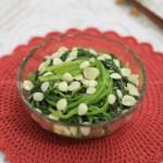 杏仁菠菜翡翠碗(适合春季的健康养生菜)