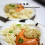 浓汤扇贝意面(高考菜谱-给考生健脑,明目,健脾,和胃,润肠)