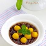 南瓜圆子红豆汤(高考菜谱-为考生提神减压的营养早餐)