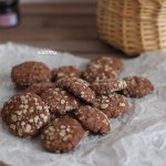 花生饼干和燕麦巧克力饼干