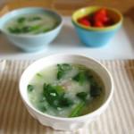 菠菜双米粥(谷雨的舒肝健脾养生粥)