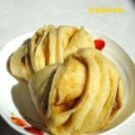 玉米红糖花卷