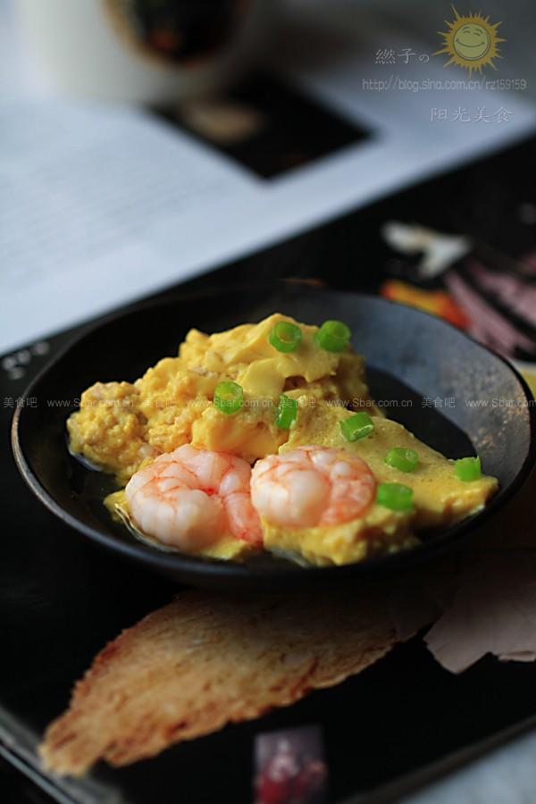 虾仁肉末蒸鸡蛋