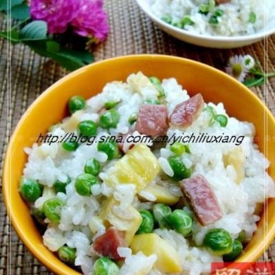 立夏吃糯米饭