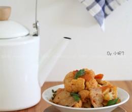 五花肉辣炒菜花