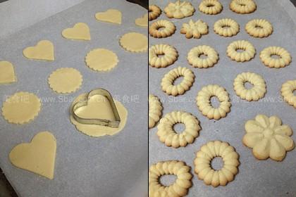 花色奶油芝士饼干