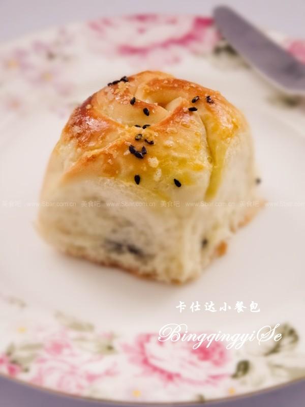 卡仕达花式小餐包