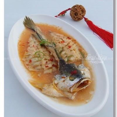 微波香茅甜辣鱼