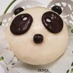 熊猫馒头和熊猫蜜豆包