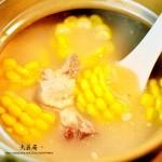 玉米山药龙骨汤