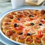 花边香肠披萨