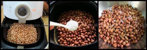 低热量油炸花生米 & 自制香浓颗粒花生酱