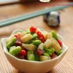 腊肉蚕豆笋丁(高考菜谱-有助于增强考生记忆力的健脑菜)