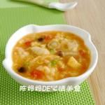西红柿疙瘩汤(早餐菜谱)