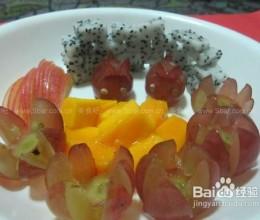 超简单的水果拼盘做法