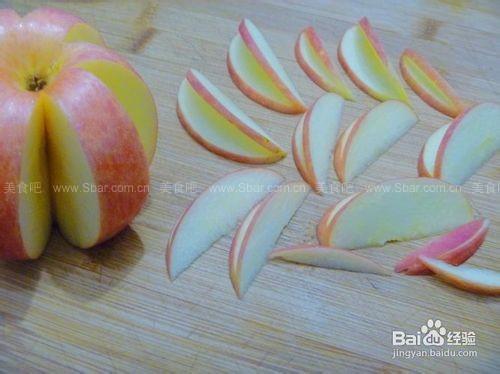 苹果花水果拼盘