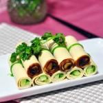 碧玉腐皮卷(蘸酱菜)