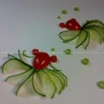小金鱼拼盘(水果拼盘-盘饰围边)